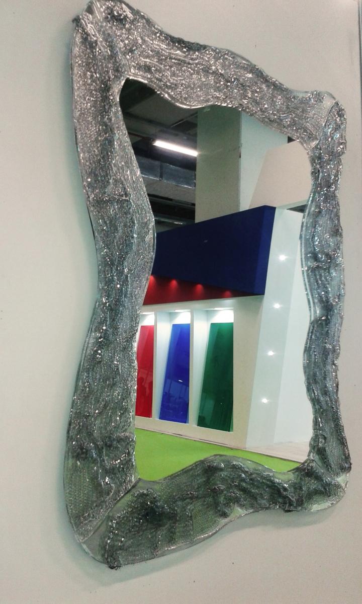 İki Cam Arası Tel Örme (Ayna)