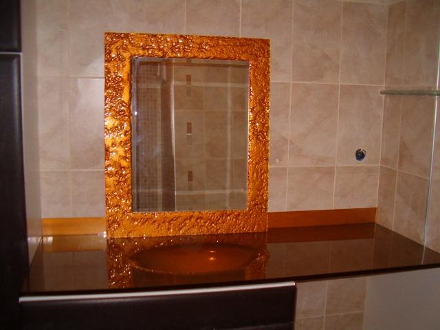 Füzyon Cam Lavabo ve Ayna